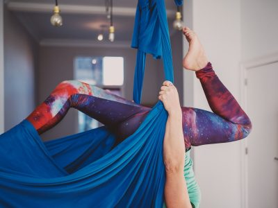 Yoga by Candlelight Aerial Yoga